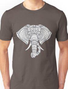 Elephant with Ornate Tribal Tattoo  Unisex T-Shirt