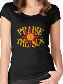 Praise The Sun (8) Women's Fitted Scoop T-Shirt