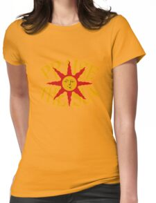 Praise The Sun (8) Womens Fitted T-Shirt