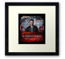 Supernatural Dean Winchester 2 Framed Print