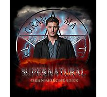 Supernatural Dean Winchester 2 Photographic Print