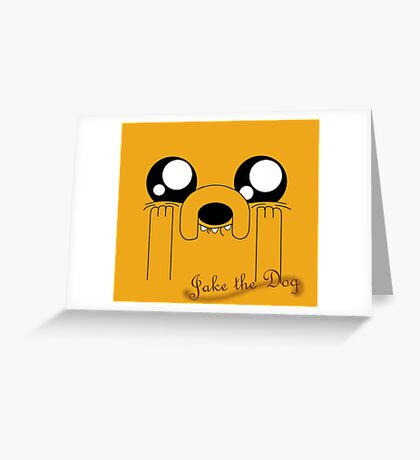 Jake the Adorable Greeting Card