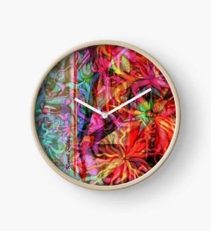 Qualia's Flowers Tower Clock
