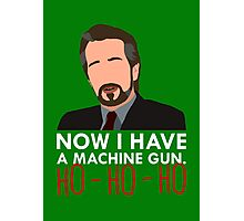 Now I Have A Machine Gun. Photographic Print
