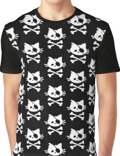 Pirate Cat Graphic T-Shirt
