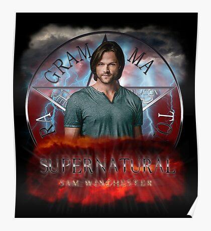 Supernatural Sam Winchester 2 Poster