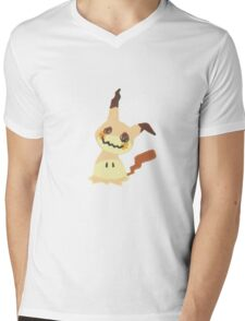 Pastel mimikyu pattern! Mens V-Neck T-Shirt