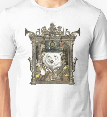 Steampunk Polar Bear Warden Unisex T-Shirt