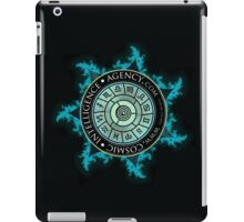 Cosmic Intelligence Agency - On Black iPad Case/Skin