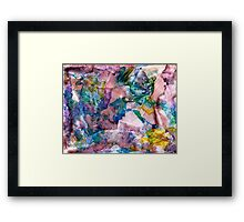 Long Climb Out Framed Print