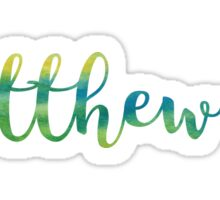 Matthew 28:19 Sticker