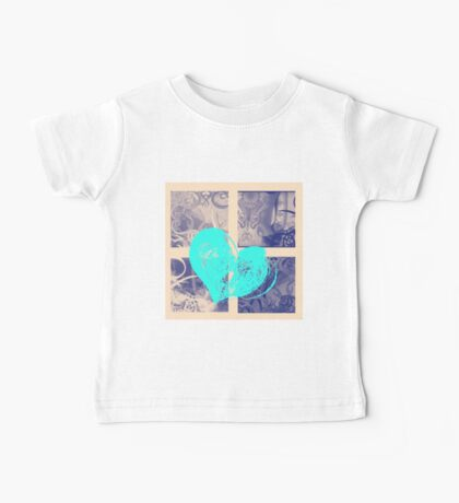 AT LAST (BLOCK 9: BLUE HEART) - MIX AND MATCH!!! Baby Tee