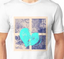 AT LAST (BLOCK 9: BLUE HEART) - MIX AND MATCH!!! Unisex T-Shirt