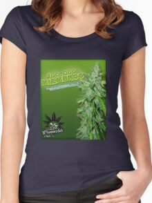Canabbis Chilean Group  Women's Fitted Scoop T-Shirt
