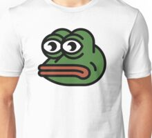 Pepe the frog minimal  Unisex T-Shirt