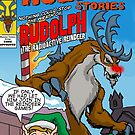 Rudolph the Radioactive Reindeer by monsterfink