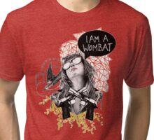 I Am A Wombat Tri-blend T-Shirt