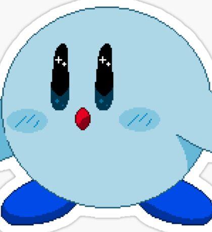 Blue Kirby Sticker