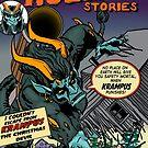 Krampus Punishes by monsterfink