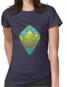 Sea to Sky Womens Fitted T-Shirt