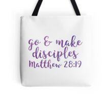Matthew 28:19 Tote Bag