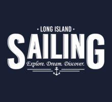 Long Island Sailing Kids Tee