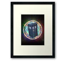 Time Vortex Framed Print