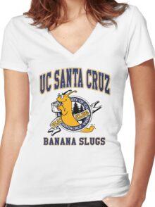 UC SANTA CRUZ Women's Fitted V-Neck T-Shirt