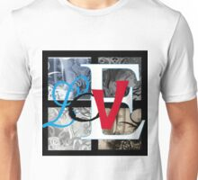 AT LAST (BLOCK 4: WORD 'LOVE') - MIX AND MATCH!!! Unisex T-Shirt