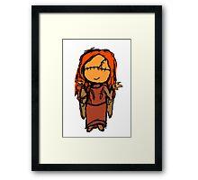 Seer Girl Framed Print