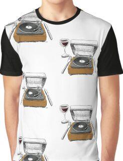 Dinner Music Graphic T-Shirt