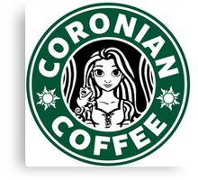 Coronian Coffee Canvas Print