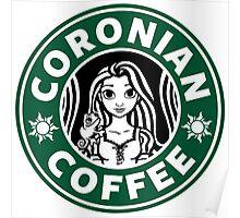 Coronian Coffee Poster