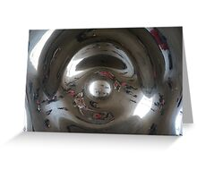 Cloudgate Chicago inside Greeting Card