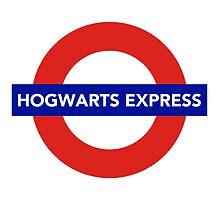 Hogwarts Express by asirensong