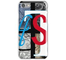 AT LAST (BLOCK 2: WORD 'LAST') - MIX AND MATCH!!! iPhone Case/Skin