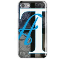 AT LAST (BLOCK 1: WORD 'AT) - MIX AND MATCH!!! iPhone Case/Skin