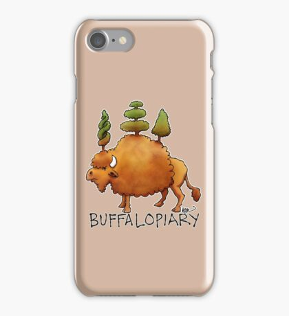 Buffalopiary iPhone Case/Skin