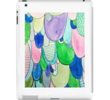 Watercolor scallops  iPad Case/Skin