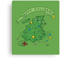 Happy Holidaze Canvas Print