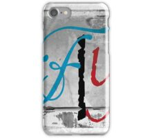 BROKEN WINGS (BLOCK 8: WORD 'FLY') - MIX AND MATCH!!! iPhone Case/Skin