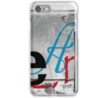 BROKEN WINGS (BLOCK 6: WORD 'LEARN') - MIX AND MATCH!!! iPhone Case/Skin