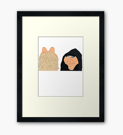 Doing The Most Framed Print