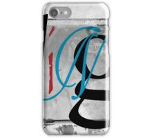 BROKEN WINGS (BLOCK 4: WORD 'WINGS') - MIX AND MATCH!!! iPhone Case/Skin