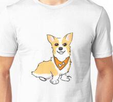 Bandana Corgi Unisex T-Shirt
