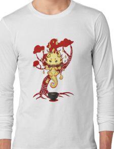 cute little dragon fire Long Sleeve T-Shirt