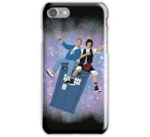 Bill Ted Ride the TARDIS iPhone Case/Skin