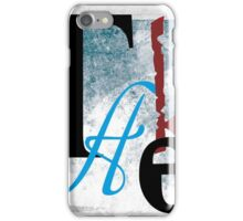BROKEN WINGS (BLOCK 1: WORD 'TAKE') - MIX AND MATCH!!! iPhone Case/Skin