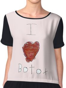 I Love Botox Chiffon Top