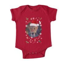 Happy Christmouse One Piece - Short Sleeve